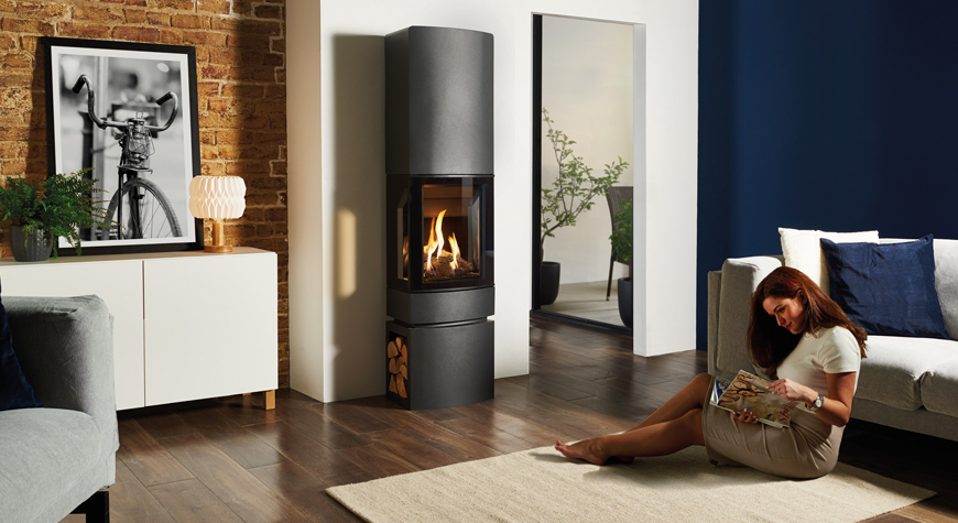 Gazco Gas Stoves - traditional and contemporary designs available at Heating South West