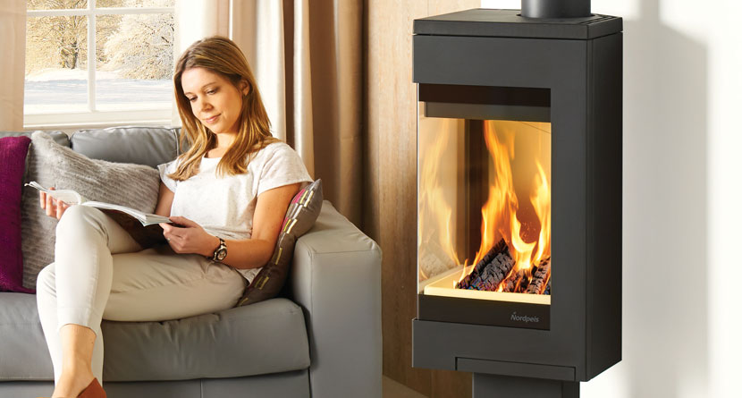 The modern Nordpeis Quadro available at Heating South West
