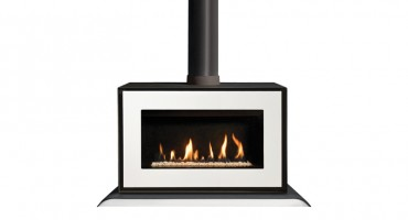 The ultra modern Gazco Studio freestanding gas stove