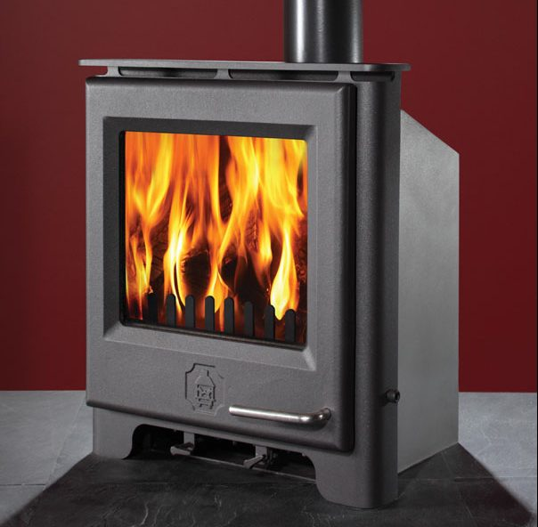 Woodwarm wood inset fires. A taste of Devon, available in Cornwall at Heating South West