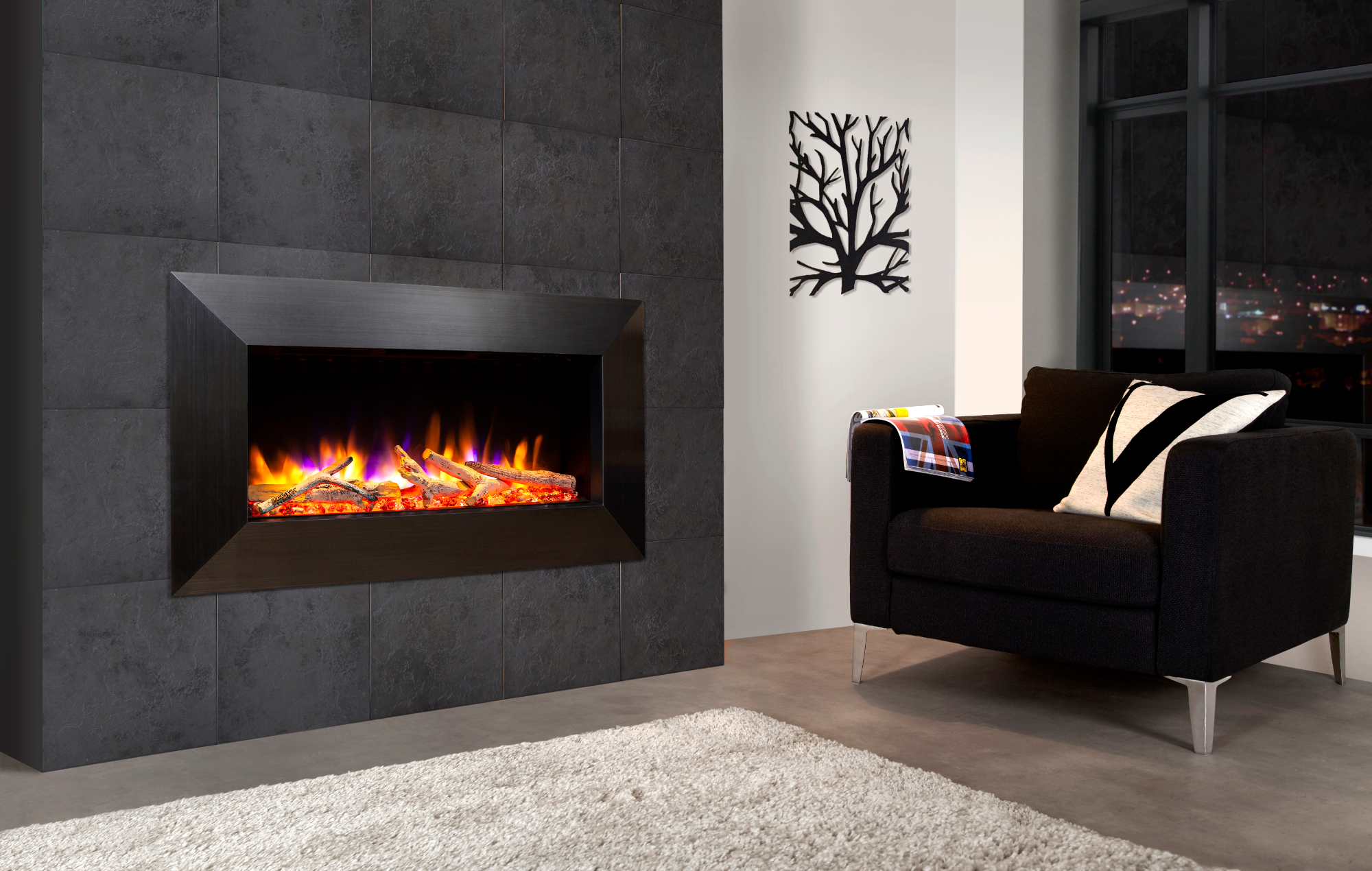 Celsi Electric Inset Fires available from Heating South West