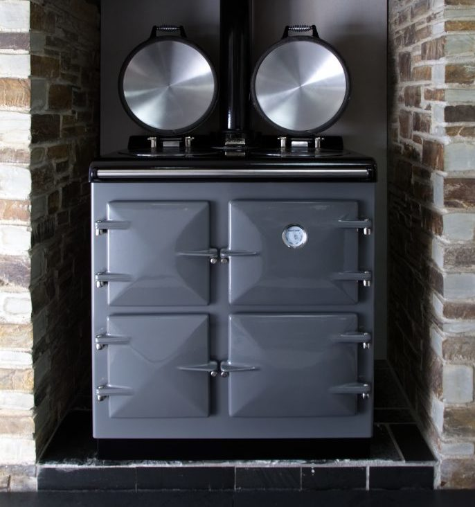 The Oil Fired Heritage Compact - a smaller sized range cooker for when space is tight...